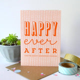 Sprinkle Happy Ever After card