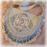 Antique Vintage Style Ribbon Embroidery Accessories by Savannahparker.com