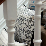 Dartmouth Skyline Cotton Cushion by Bert & Buoy on Oates & Co.