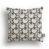 Black and White Seagull Design Cushion by Bert & Buoy on Oates & Co.