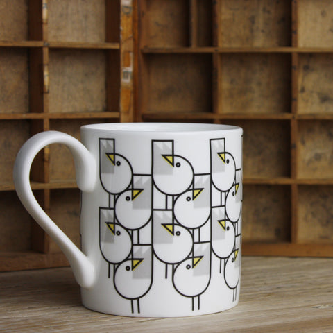 Great Gulls Bone China Mug by Bert & Buoy