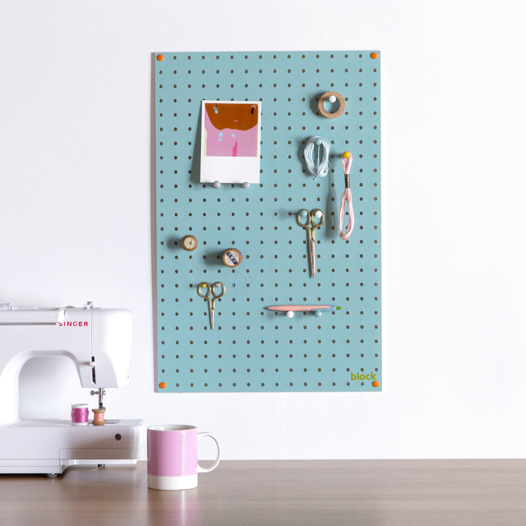 Unusual Wall Organiser Pale Blue Utility or Child\'s Room – Oates & Co.