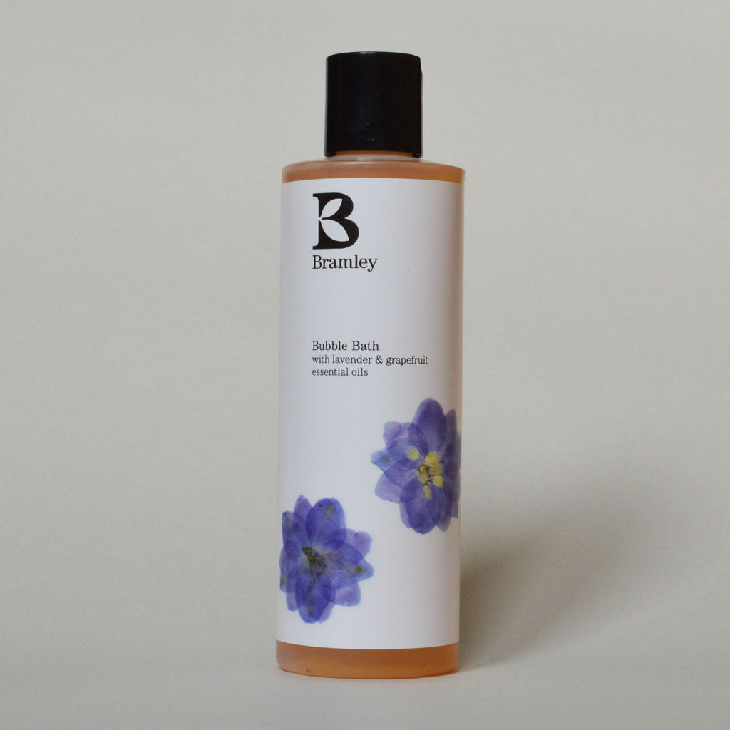 Bramley Organic Natural Lavendar and Grapefruit Bubble Bath on Oates & Co.
