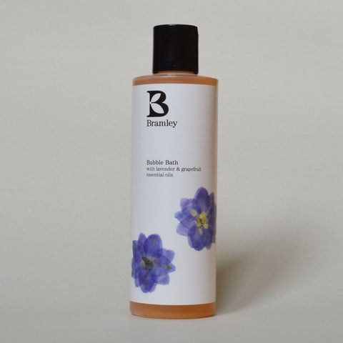 Lavendar and Grapefruit Bubble Bath by Bramley