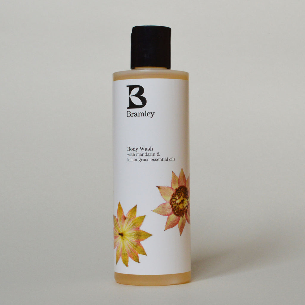 Bramley Organic and Natural Mandarin and Lemongrass Body Wash on Oates & Co.