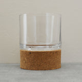 Large cork hurricane tealight holder by Broste of Copenhagen on Oates & Co.