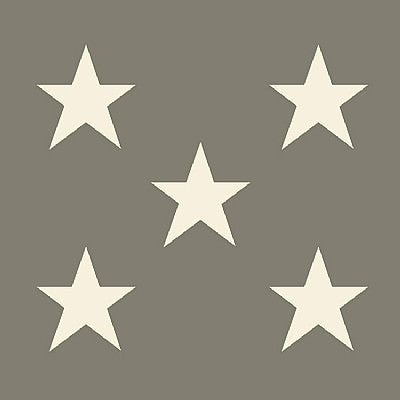 20 Medium Star Ivory Paper Napkins by Broste
