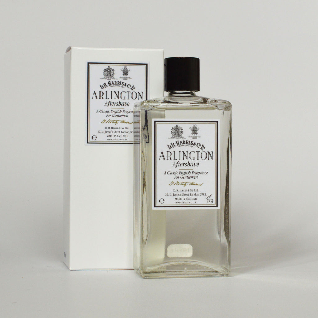 DR Harris Arlington scent men's aftershave suitable for sensitive skin on Oates & Co.