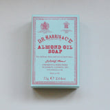 DR Harris almond oil soap suitable for sensitive skins on Oates & Co.