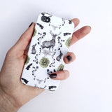 Deborah Ballinger Flora and Fauna hand designed iPhone 5/5s case on Oates & Co.