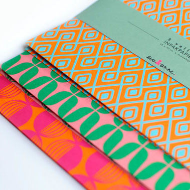 Sunset Contrast Wrapping Paper by Eva & Anne
