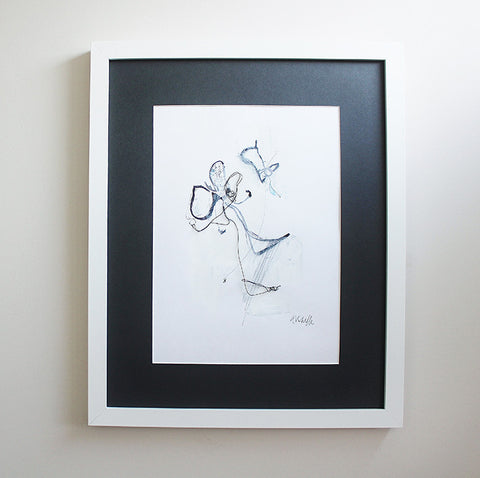 Framed Original Drawing No 1 by Hayley Sutcliffe