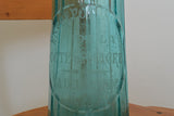 Vintage French Glass Blue Soda Syphon