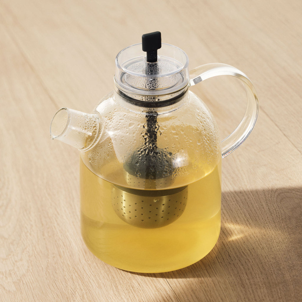 Glass Kettle Teapot by Norm Architects for Menu Copenhagen on Oates & Co.