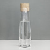 One Litre Glass Table Carafe or Jug with Cork Lid by Menu on Oates & Co.