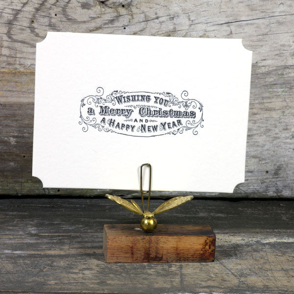 Merry Christmas Letterpress Card Set