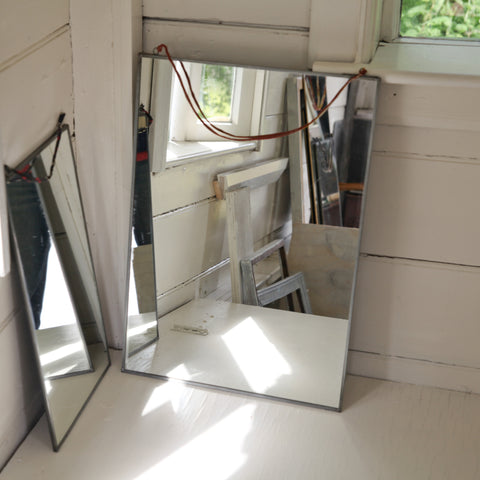 Large Kiko Antique Zinc Mirror