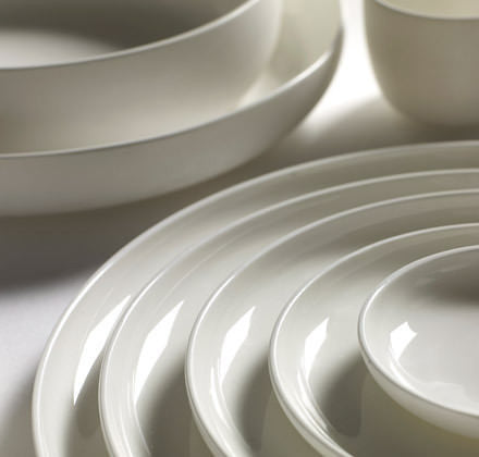 White Porcelain Tableware by Piet Boon for Serax