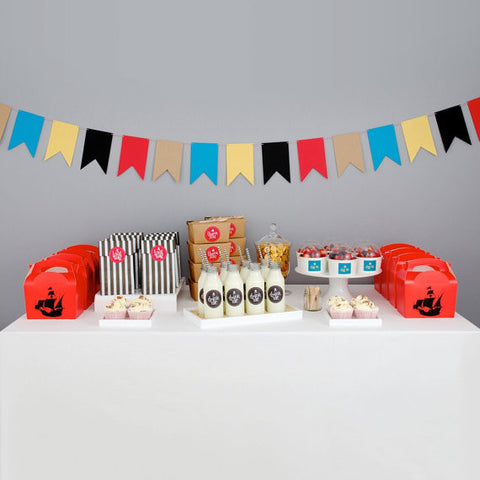 Treasure Island Pirate Party Pack