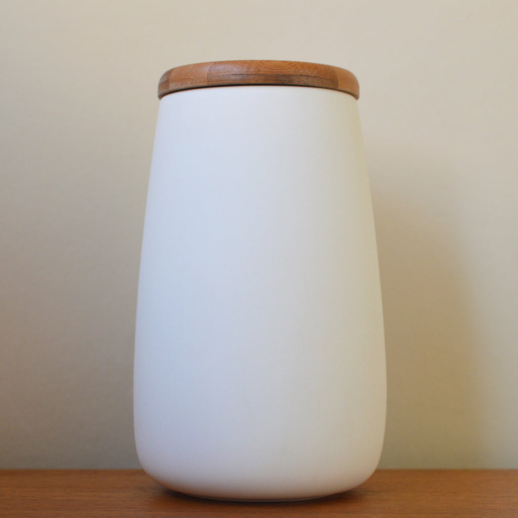 Serax White Unglazed Ceramic Storage Jar