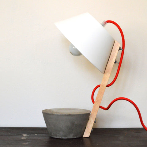 Concrete Base Table Lamp by Serax