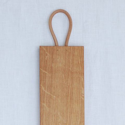 Long wooden tapas serving board handmade in the UK by Wild & Wood on Oates & Co.