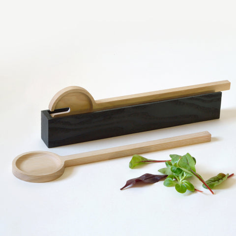 Ash and Oak Salad Servers by Tanti