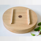 Handmade oak salad or fruit bowl designed by Tanti in the UK on Oates & Co.