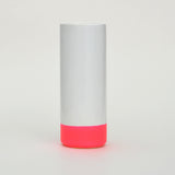 Cylindrical Neon Dipped Vase with Rubber Detail by Taz Pollard on Oates & Co.