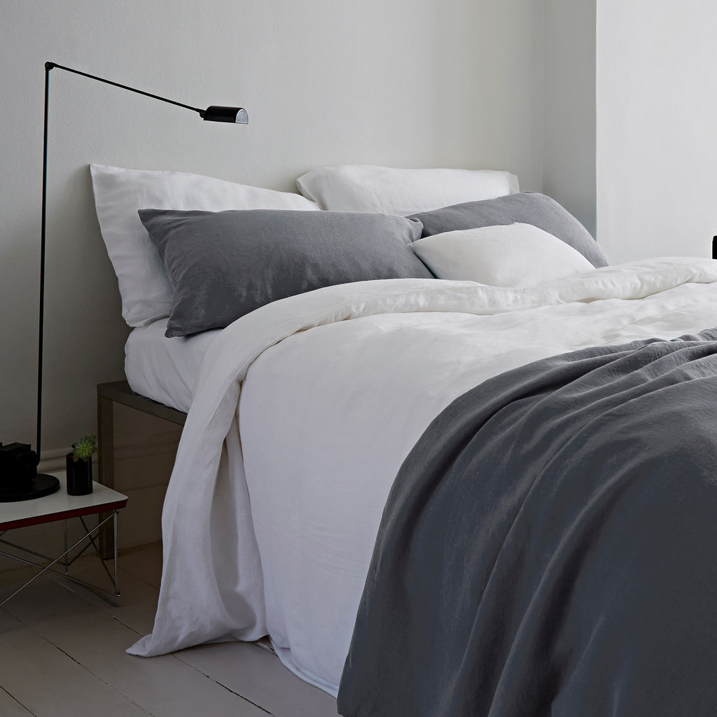 Classic White The Linen Works Kingsize Bed Sheet Oates Amp Co
