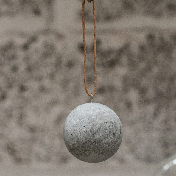 Mini Hanging Concrete Ball by Tutti & Co.