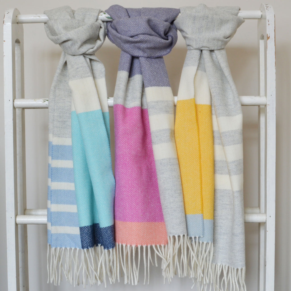 100% Lambswool Scarf by Twig