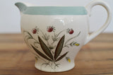 Vintage Milk Jug in Alfred Meakin Hedgerow design make in Ironstone on Oates & Co.