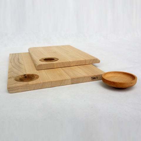 Chopping Board with Bowl by Tanti
