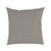 Cassia Velvet Pillow With Linen Flange, Set of 2