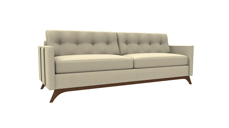 Louie Sofa With Straps