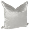 Marcelle Bleu' Pillow in Luxe Velvet, Set of 2