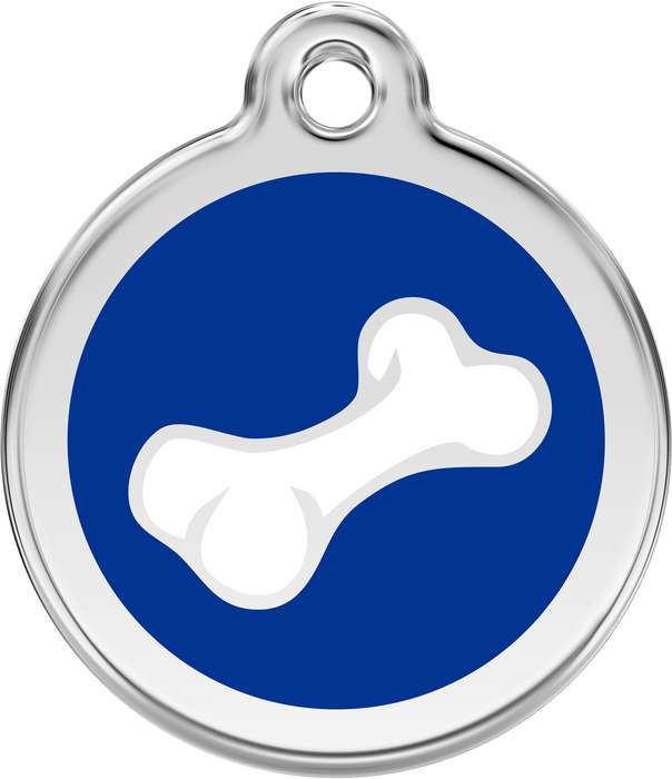 Cartoon Bone Dog Tag
