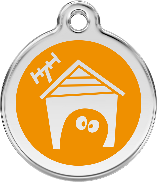 Dog House Dog Tag