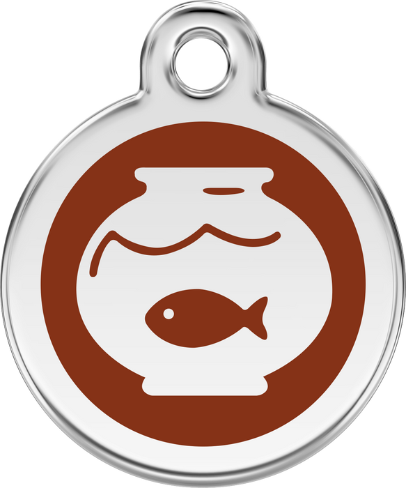 Fish Bowl Dog Tag