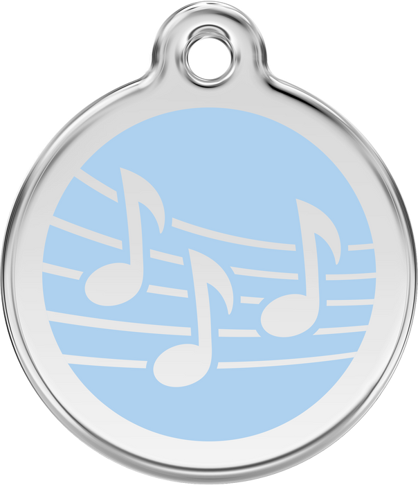 Music Dog Tag