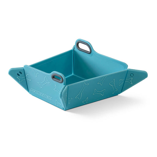 Foldable Travel Pet Bowl (Blue)