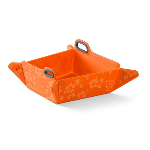 Foldable Travel Pet Bowl (Orange)