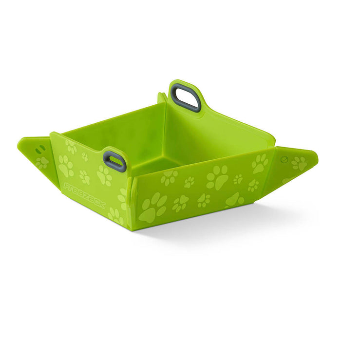 Foldable Travel Pet Bowl (Lime)