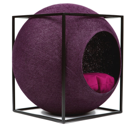 The Cube Cat House (Plum)