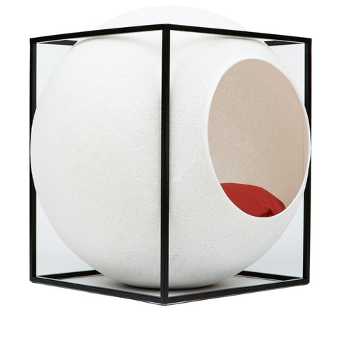 The Cube Cat House (Ivory)