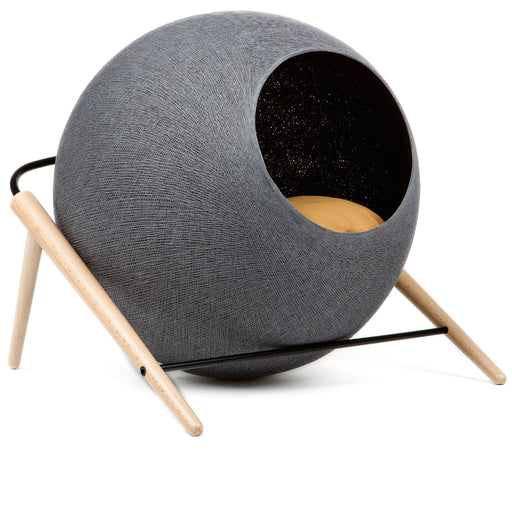 The Ball Cat House (Dark Grey)