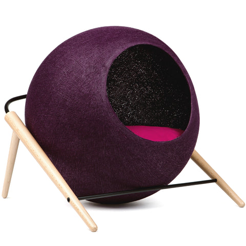 The Ball Cat House (Plum)