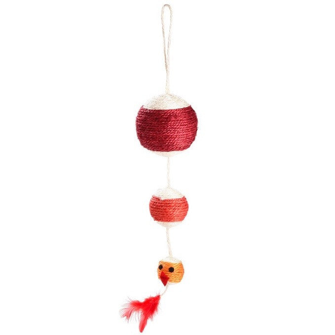 Rainbow Cat Toy (Red)