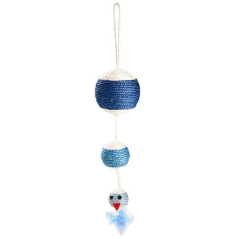 Rainbow Cat Toy (Blue)